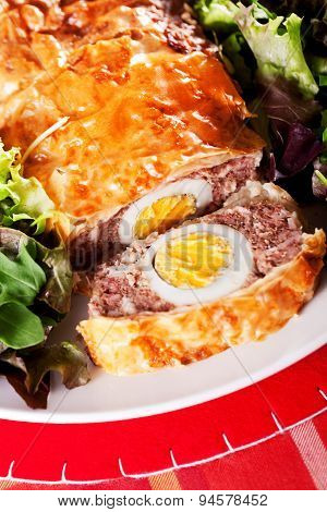 Meatloaf With Eggs