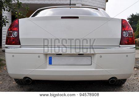 Chrysler rear view