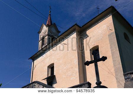 Rural church.