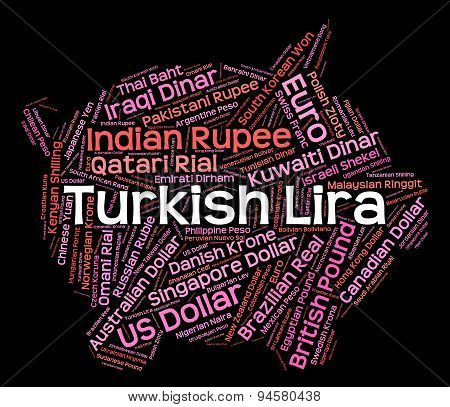 Turkish Lira Indicates Forex Trading And Broker