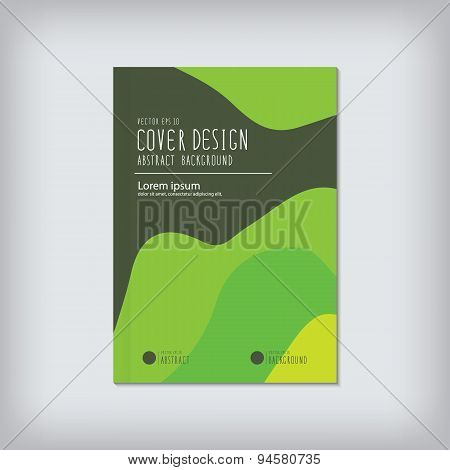 Cover Design With Colorful Or Abstract Background Design Vector.