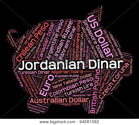 Jordanian Dinar Means Foreign Currency And Broker