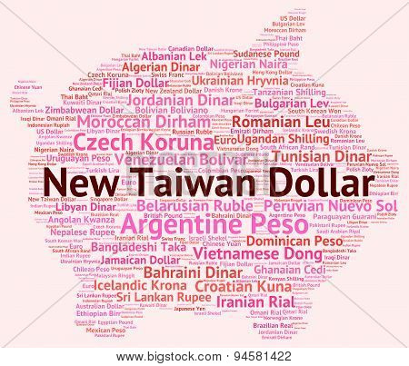 New Taiwan Dollar Means Exchange Rate And Banknotes