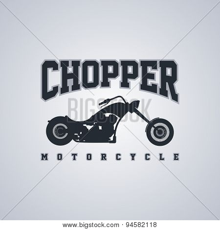 Chopper Motorcycle