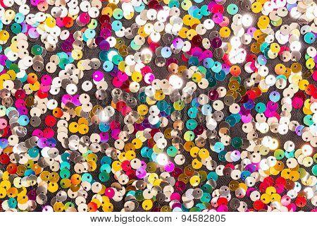 Colorful Shiny Elements Background