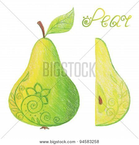 Sketchy Pear