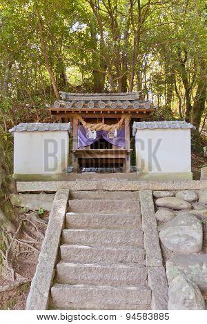 Iwasaki Shinto Shrine In Matsuyama, Japan