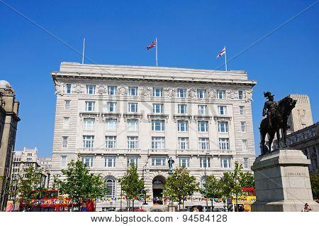 Cunard Building, Liverpool.