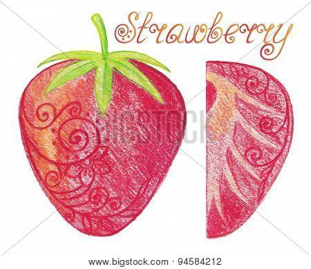 Sketchy Strawberry