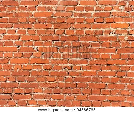 Brick Wall Detail Texture