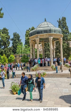 Visiting the Tomb of Hafez