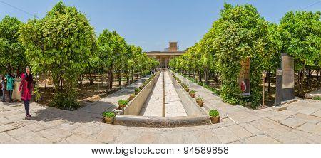 Shiraz Citadel inside garden