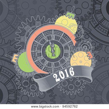 Steampunk mechanism 2016