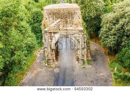Porta San Sebastiano In Rome.