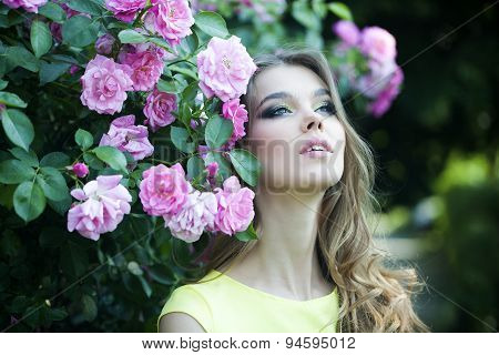 Alluring Woman Portrait