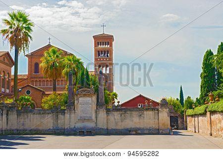 Church Of Sant'anselmo All'aventino, Rome