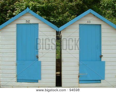 Twin Huts