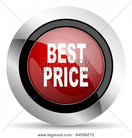best price red glossy web icon original modern design for web and mobile app on white background