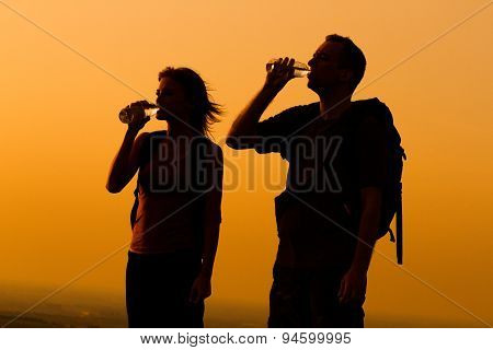 Refreshment for hikers