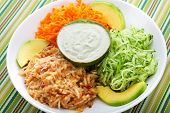 picture of avocado  - Vegetable salad  - JPG