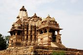 picture of sun god  - Dedicated to Surya the sun god Chitragupta Temple under Western Group of Temples in Khajuraho Madhya Pradesh India Asia - JPG