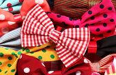 picture of tied  - Bow ties pile - JPG