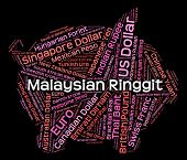 picture of ringgit  - Malaysian Ringgit Showing Currency Exchange And Market - JPG