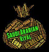 pic of arabian  - Saudi Arabian Riyal Meaning Foreign Currency And Banknote - JPG