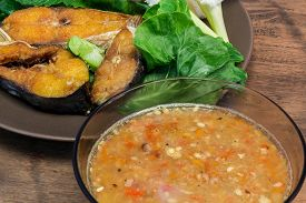 stock photo of pronunciation  - Fermented fish spicy dip  - JPG