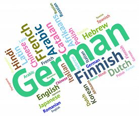 picture of dialect  - German Language Meaning Communication Foreign And Text - JPG