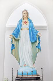 foto of holy  - The Blessed Virgin Mary holy jesus lady - JPG