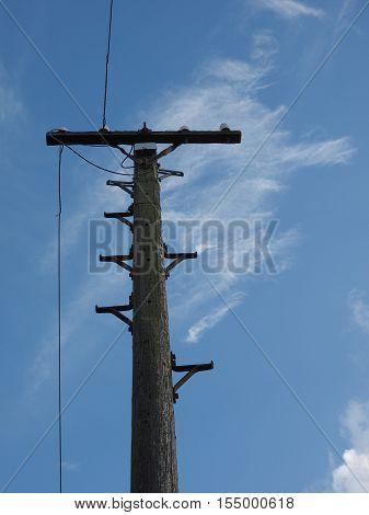 Vintage Telegraph Pole