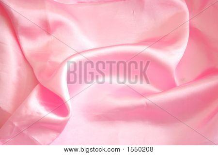 Pink Satin Cloth