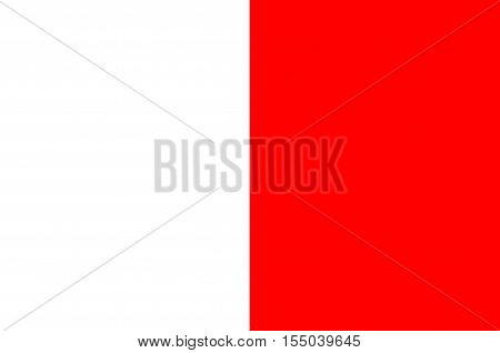Flag of Bari is the capital city of the Metropolitan City of Bari and of the Apulia region Italy