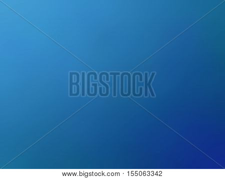 Abstract Gradient Dark Blue Colored Blurred Background