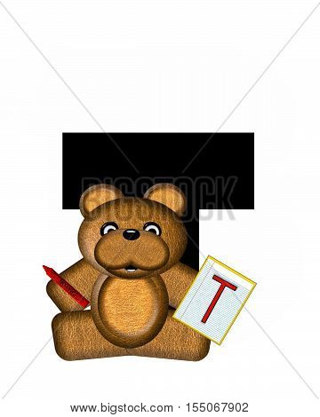 Alphabet Teddy Homework T