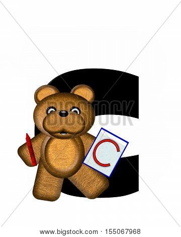 Alphabet Teddy Homework C