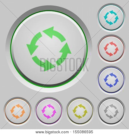 Rotate left color icons on sunk push buttons