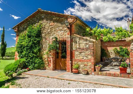 Summer cottage agriturismo in Tuscany in Italy