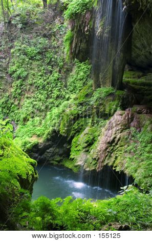 Westcave Waterfall And Pool