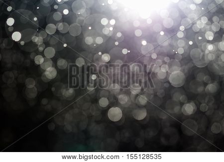 Merry Christmas Greeting. Abstract Bokeh Background Blur Style For Christmas. You Can Apply For Boke
