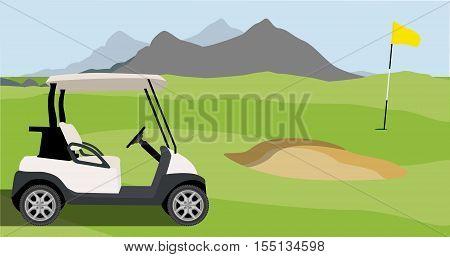 Golf Field Backhround