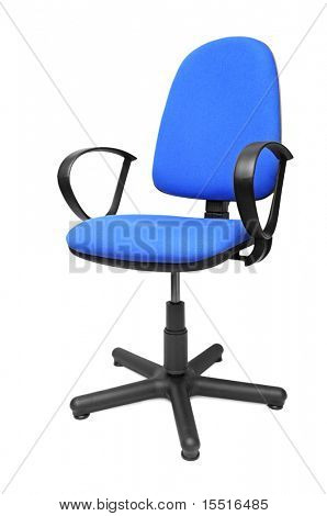 office chair isolated on a white