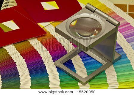 Color Guide For Offset Print On Black Blackground