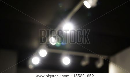 Blurry Textures, Colorful Background, Multicolored Blurry Lights