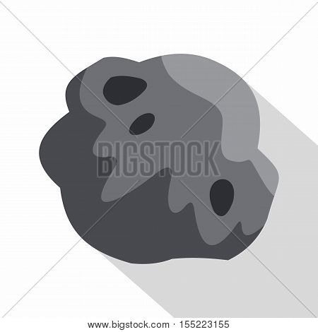Asteroid icon. Flat illustration of asteroid vector icon for web