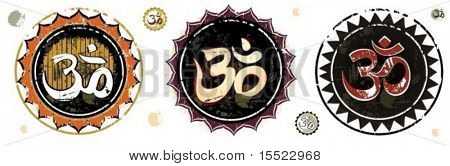 Om Aum Symbol.  To see similar design elements, please visit my gallery