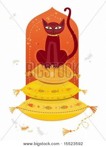 Arabic cat. To see similar, please VISIT MY GALLERY.