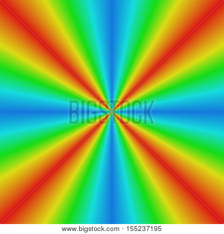Smooth abstract gradient sun light refraction background