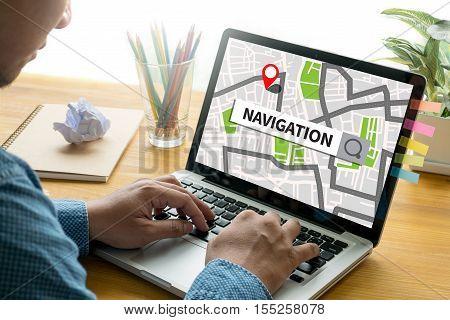 Route Destination Way Route  City Map Destination Route Navigation